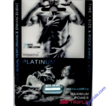 Impactra Gold Triple Maximum Power Male Sexual Performance Enhanacement Pill