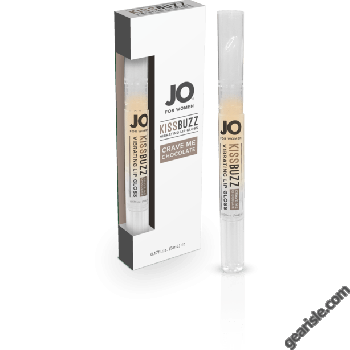 Jo For Women Kissbuzz Crave in Chocolate Vibrating Lip Gloss 0.04 Fl Oz