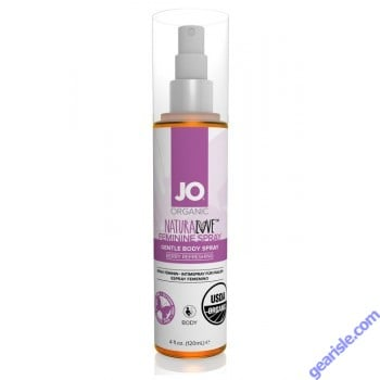 System Jo Organic Natural Love Feminine Spray Berry Refreshing 4 Oz