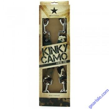 Kinky Camo Hogtie NS Novelties Vinyl / Canvas