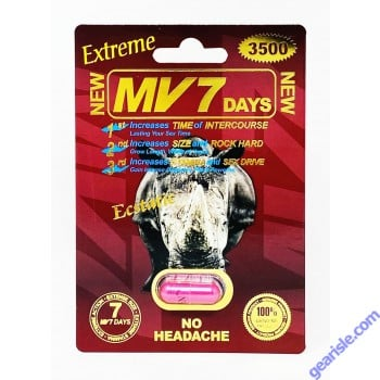 MV 7 Days 3500mg Extreme Male Sexual Enhancement Pill