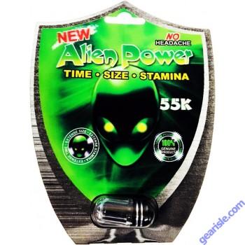 New Alien Power 55K Black  Pill