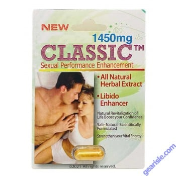 Classic 1400mg Male Sexual Performance Enhancement