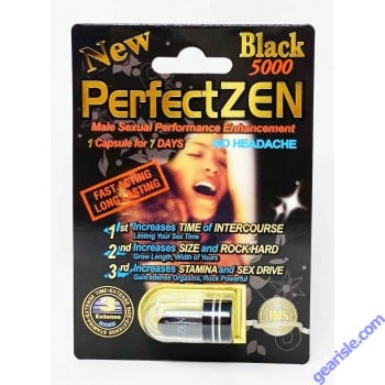 Premier Zen Black 5000 Sexual Enhancement Pill 2000mg