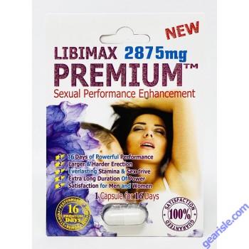 New Premium 2875mg Sexual Performance Enhancement for Men