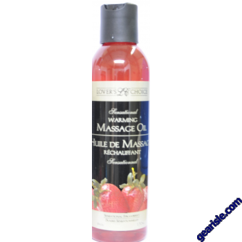 Lover's Choice Strawberry Massage Oil & Cream