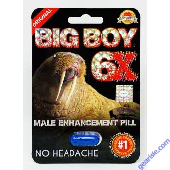 7K Mamba Premium 2750pwr 7 Days Enhancement for Men 1 Pill