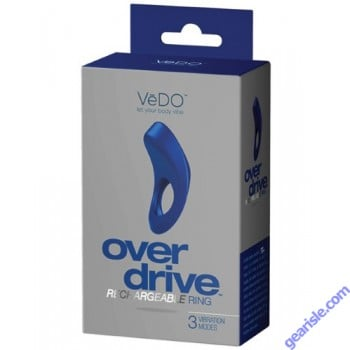 Overdrive Rechargeable Ring 3 Vibration Modes
