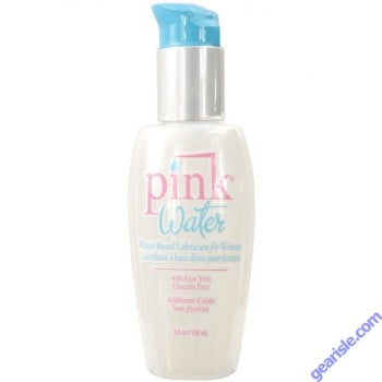 Pink Water Based Women No Paraben Lubricant Aloe 100ml 3.3oz