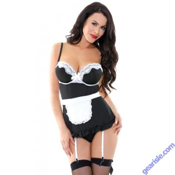 Night Service Maid Costume Set Play PL1501