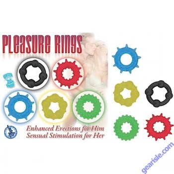 Pleasure Ring Enhanced Erections For Him Cock Ring