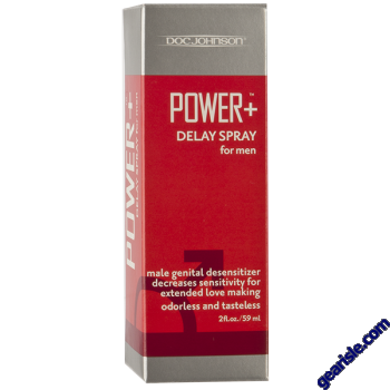 Power + Delay Spray for Men Desensitizer Doc Johnson 2oz