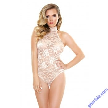 Chloe High Neck Playsuit Romp R516