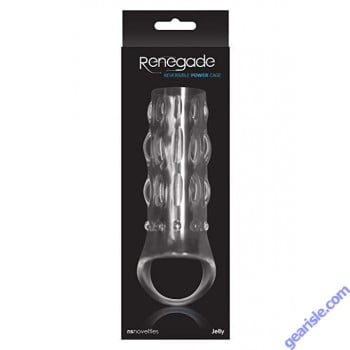 Renegade Reversible Power Cage clear NS Novelties