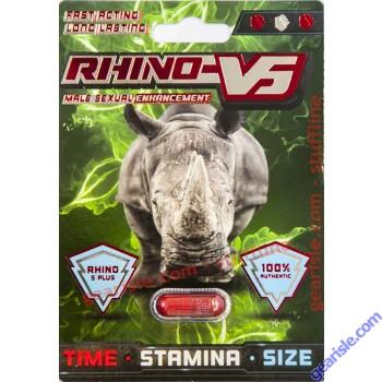 Rhino V5 Plus 3000 Male Sexual Enhancement by RHINO-V5