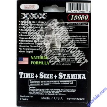 Rhino XXX 10000