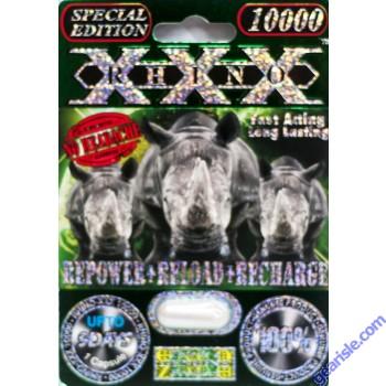 Rhino XXX 10000 Genuine Male Sexual Enhancer Pill