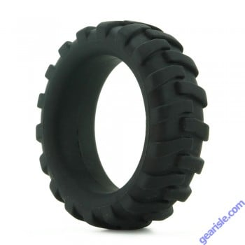 Mack Tuff Silicone Large Tire Cock Ring Black