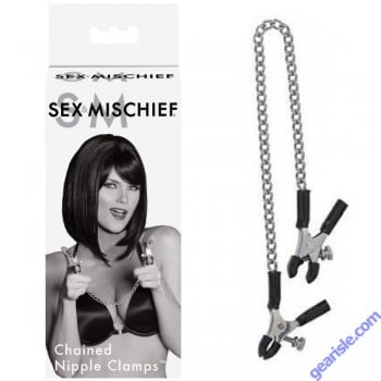 S&M Chained Nipple Clamps