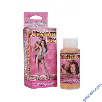 Spanish Fly Strawberry Daiquiri Sex Liquid Drops Doc Johnson 1 fl Oz