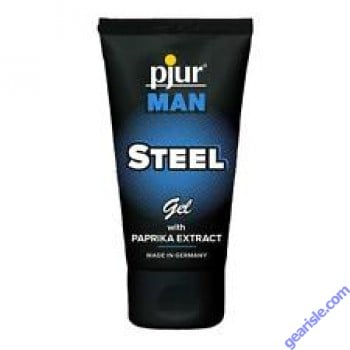 Man Steel Gel with Paprika Extract 1.7 oz Pjur