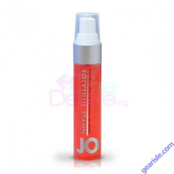 Jo Nipple Titillator Arousal Gel Strawberry 1 fl. oz