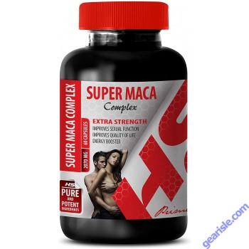 Sexual Energy Complex Super Maca Root 2070Mg 60 Capsules