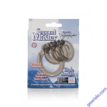 CalExotic Support Master Stretchy And Comfortable Triple SmoothToy