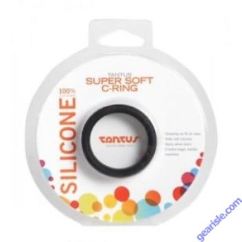 Super Soft Cock Ring 100% Ultra Premium Silicone Black