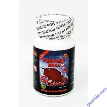 Thunder Bull 7K Triple Maximum Max Power Enhancement 6 Capsules per Bottle