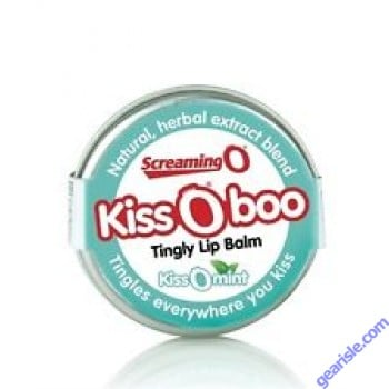 Screaming Kiss O boo Tingly Lip Balm Peppermint Flavor