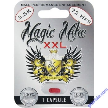Magic Mike Sexual Enhancement Pill For Men 1 Tablet