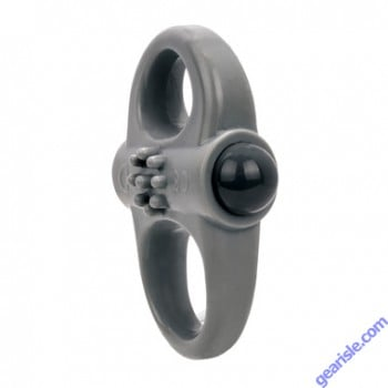 Charged Yoga Vibe Double Ring Grey ScreamingO