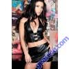 Leather Mini Skirt 13-602