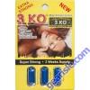 3 KO Blue Male Sexual Libido Enhancer 1000 mg 3 Pill
