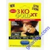3 KO Blue Solo Gold XT Male Libido Enhancer Pill 2800mg