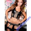 Leather Lace Up Bustier 5-185