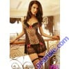 Babydoll Lady Lace Sexy Costume 8561