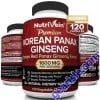Nutrivein Pure Korean Red Panax Ginseng For Man And Women