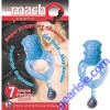 Mach Ecstasy Vibration Ring 7 Speeds Clitorlal Tesiticular Stimulation