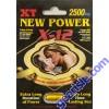 New Power X-12 2500mg XT 12 Days Sexual Enhancer Pill for Men