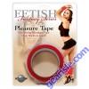 Fetish Fantasy Series Pleasure Tape Red Non Sticky Bondage