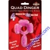 Quad Dinger Super Quad Vibrating Ring 4 Motor for 4X The Fun Toy