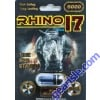 Rhino 17 5000 Black Pill Male Enhancement