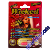 Wicked Extreme 1750mg Triple Sexual Enhancement Red Pill