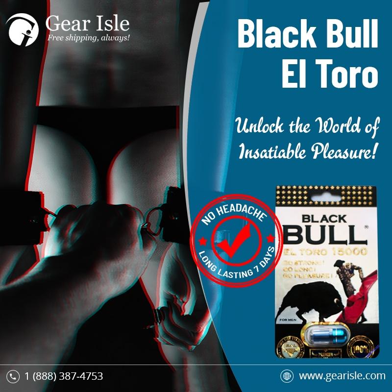 Black Bull Eltoro Male Enhancement Pill